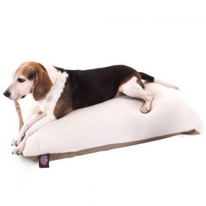 30X40 Khaki Rectangle Pet Dog Bed With Removable Washable Cover By Majestic Pet Products Small To Medium