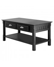 Winsome Timber Occasional Table Black