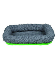Trixie Pet Products 62702 Cuddly Bed for Small Animals, Green/Grey, 30 x 22cm