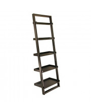 Winsome Wood Bailey Shelving Black