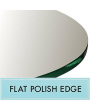 30 Round Glass Table Top 1/2 Thick Flat Polished Edge
