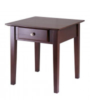 Winsome Wood Rochester Occasional Table Antique Walnut
