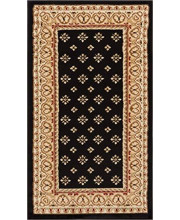 """Well Woven Barclay Hudson Terrace Black Traditional Area Rug 2'3"""" X 3'11"""""""