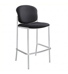 Safco Products Diaz Bistro Chair, Bla...