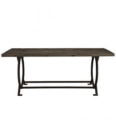 Modway Effuse Wood Top Dining Table I...