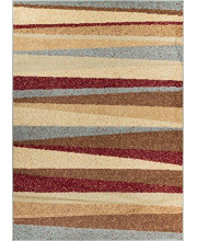 """Well Woven Miami Aria Hills Modern Area Rug 20"""" x 7'2"""" Runner, Multicolor"""