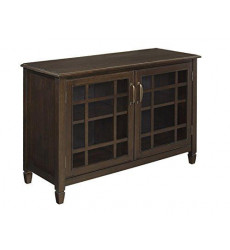 Simpli Home Connaught Solid Wood 46 i...