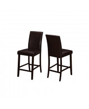 Monarch 2 Piece Dining Chair, Brown