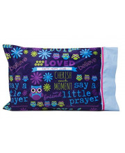 Kid's pillowcases - Perfect Get Well, Christian or Religious Gifts for kids - Personalize your SAY A LITTLE PRAYER Pillowcase - Spiritual Gifts for kids - Write your message of love and encouragement.