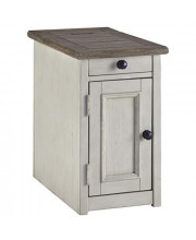 Signature Design By Ashley Bolanburg Chair Side End Table Two-Tone
