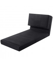 Adumly Fold Down Chair Flip Out Lounger Convertible Sleeper Bed Couch Game Dorm Guest