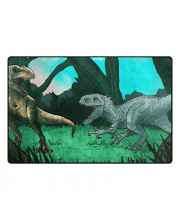 Baofu Dinosaur Area Rugs Colorful Large Non-slip Floor Mat Kids Cute Animal Decorative Carpets Doormat for Kitchen Living Dining Dorm Playing Room Bedroom 60 x 39inch