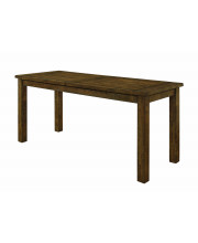 Coleman Counter Height Table Rustic Golden Brown