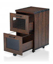 Miklo Rolling File Cabinet