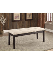 Venitio Tufted Fabric Dining Bench