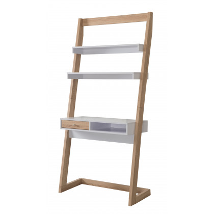 Perina leaning Workstation Modern Style - Weathered Sand/White