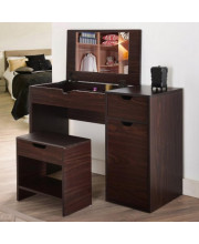Macy Mirror and stool vanity table