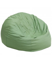 Oversized Solid Green Bean Bag Chair - DG-BEAN-LARGE-SOLID-GRN-GG