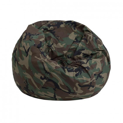 Small Camouflage Kids Bean Bag Chair