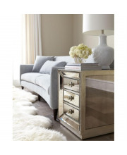 Omni Mirrored Side Table