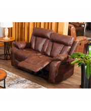 Sectional Sofa Set Loveseat Chaise Reclining Couch Recliner Sofa Chair Leather Accent Chair Set Manual Recliner Motion For Living Room/Office