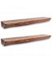 Nature'S Edge 36'' Floating Wall Shelf - 3'' Height (Set Of 2)