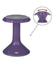 18in ACE Stool - Eggplant