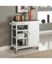 Y05-WH Kitchen Cart