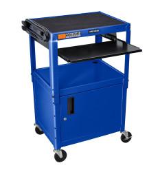 Luxor Adjustable Height Blue Metal A/...