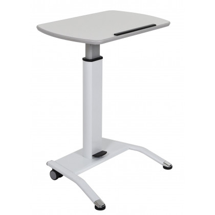 Luxor - Lx-Pnadj-Wh - Pnematic Height Adjustable Lectern