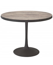"""Drive 40"""" Round Wood Top Dining Table - Brown"""