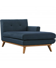 Engage Right-Facing Chaise - Azure