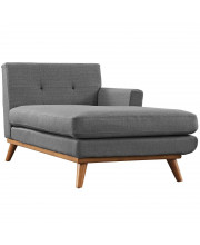 Engage Right-Facing Chaise - Gray