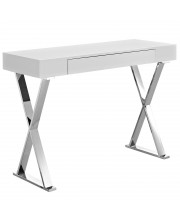 Sector Console Table - White