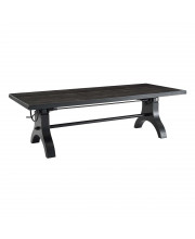 """Genuine 96 Crank Height Adjustable Rectangle Dining and Conference Table"""""""