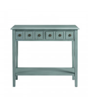Sadie 38 Inch Console Teal