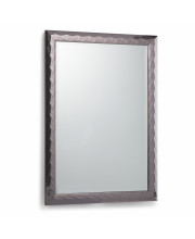 Athena Rectangular Decor Mirror in Pewter
