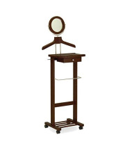 Winsome Trading, Inc. Vanity Valet Stand, Walnut