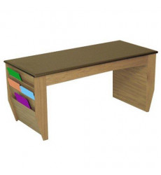 Wooden Mallet DM2-BG Coffee Table wit...