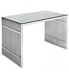Modway Gridiron Stainless Steel Offic...