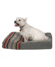 The Pendleton Collection Yakima Camp Dog Bed - Heather Green Small