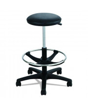 Safco Products Extended Height Lab Stool, Black