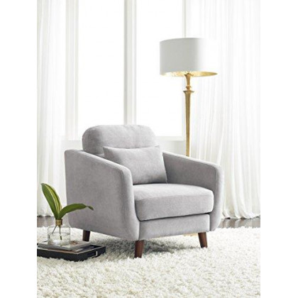 Serta Sierra Collection Arm Chair in Smoke Gray