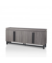 Yvonne Large Buffet Table Contemporary Style - Cappuccino