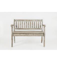 Artisan's Craft Storage Bench - Washe...
