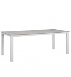 """Maine 80"""" Outdoor Patio Dining Table ..."""