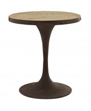 """Drive 28"""" Round Wood Top Dining Table - Brown"""
