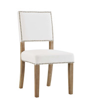 Oblige Wood Dining Chair - Ivory