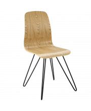 Drift Bentwood Dining Side Chair - Natural