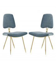 Ponder Dining Side Chair Set of 2 - Sea